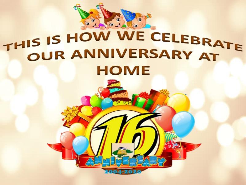 Feliz 16 Aniversario  Happy 16th Anniversary